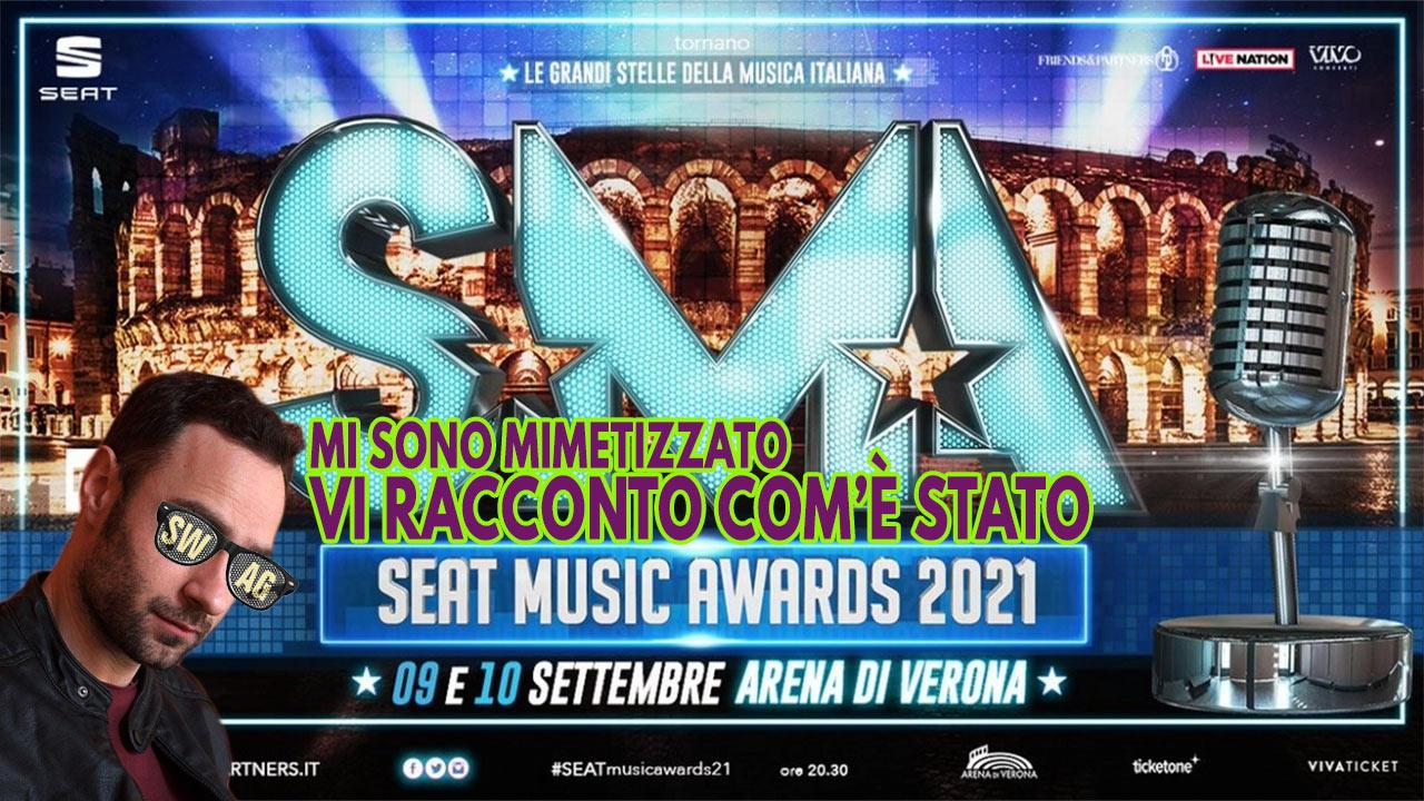 seat music awards 2021 da infiltrato